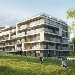 Mieszkanie w inwestycji Bonarka - ul. Strumienna, symbol B02