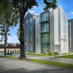 Mieszkanie w inwestycji VILLA ADEPT, budynek Villa Adept I, symbol apartament 1