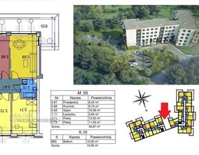Mieszkanie na sprzedaż, Kraków M. Kraków Czyżyny, 580 739 zł, 59,87 m2, ATM-MS-1990