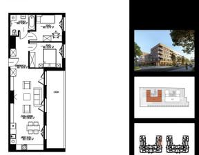 Mieszkanie na sprzedaż, Łódź Widzew Al. Piłsudskiego Józefa, 466 800 zł, 54,28 m2, 1-11