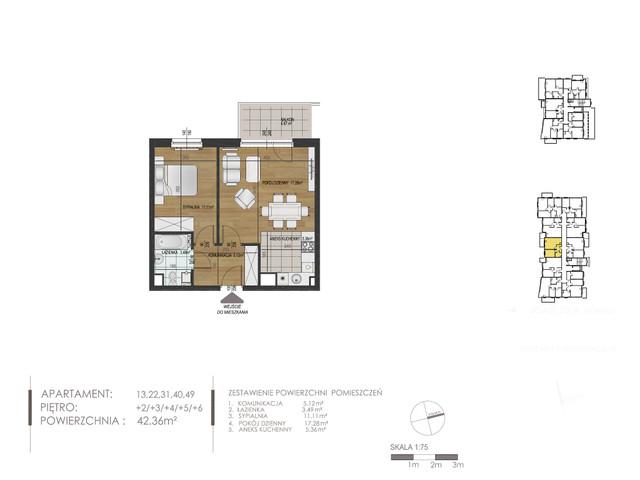 Mieszkanie w inwestycji Mokra 10, budynek Budynek A, symbol 22 » nportal.pl