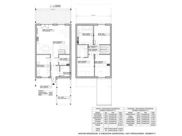Dom w inwestycji Osiedle Dębowe etap VII, budynek Etap VII, symbol 3S » nportal.pl