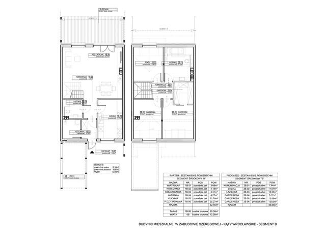 Dom w inwestycji Osiedle Dębowe etap VII, budynek Etap VII, symbol 6S » nportal.pl