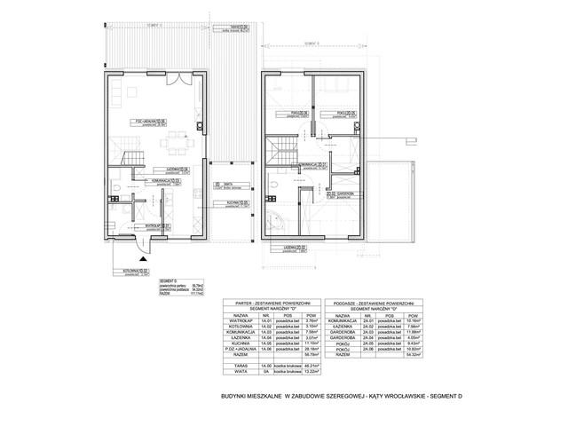 Dom w inwestycji Osiedle Dębowe etap VII, budynek Etap VII, symbol 8S » nportal.pl