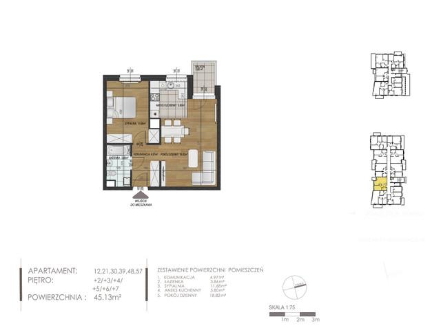 Mieszkanie w inwestycji Mokra 10, budynek Budynek A, symbol 48 » nportal.pl