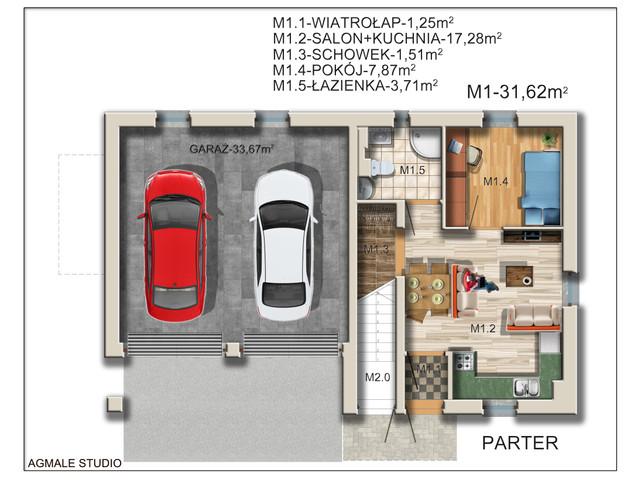 Mieszkanie w inwestycji La Dubois, symbol 1A » nportal.pl