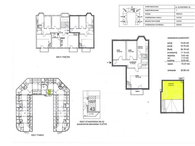 Mieszkanie w inwestycji RELAKS-PARTYNICE, symbol 122/7 » nportal.pl