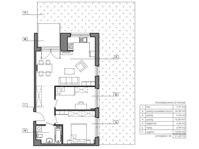 Mieszkanie w inwestycji Signum, symbol B.0.4 » nportal.pl