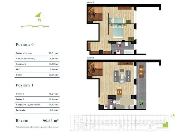Mieszkanie w inwestycji Apartamenty Zdrowie w Łodzi, symbol K4.I.12 » nportal.pl