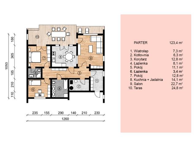 Dom w inwestycji Satori House, budynek Opcja Dom z płytą fundamentową, symbol S04P04 » nportal.pl