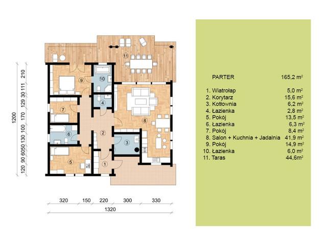 Dom w inwestycji Satori House, budynek Opcja Standard z płytą fundamentową, symbol S05P02 » nportal.pl