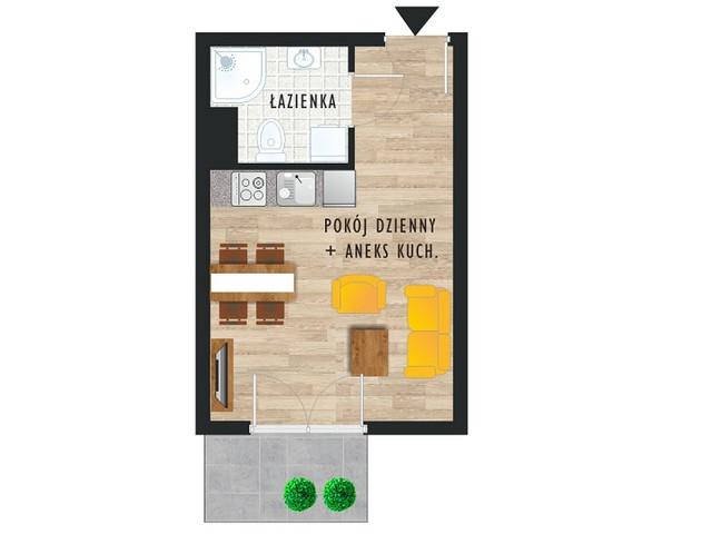 Mieszkanie w inwestycji Karoliny V, budynek Etap V, symbol 31 » nportal.pl