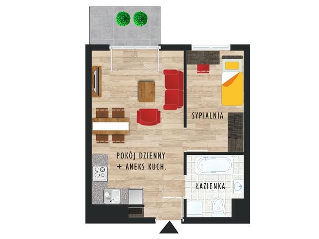 Mieszkanie w inwestycji Karoliny V, budynek Etap V, symbol 60 » nportal.pl