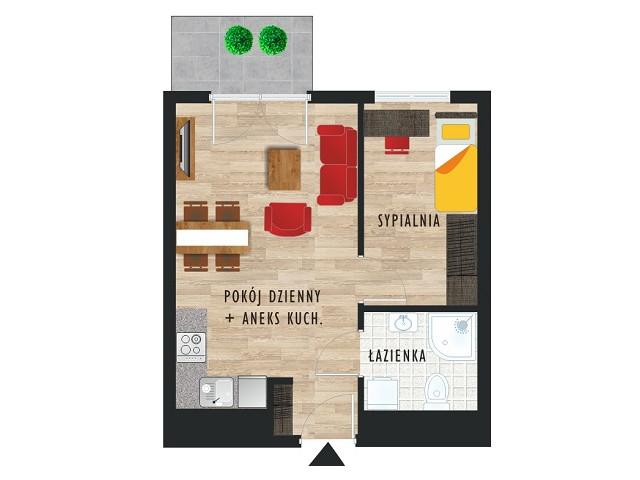 Mieszkanie w inwestycji Karoliny V, budynek Etap V, symbol 50 » nportal.pl