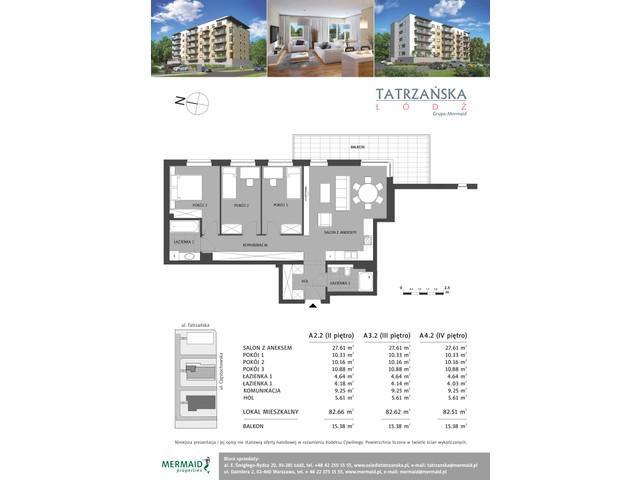 Mieszkanie w inwestycji Osiedle Tatrzańska, budynek A, symbol A3.2 » nportal.pl