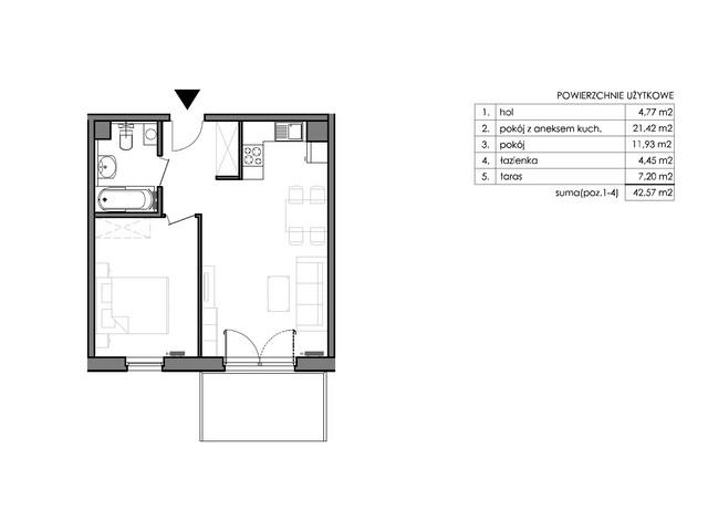 Mieszkanie w inwestycji Signum, budynek Budynek II – Stratus, symbol C.0.2 » nportal.pl