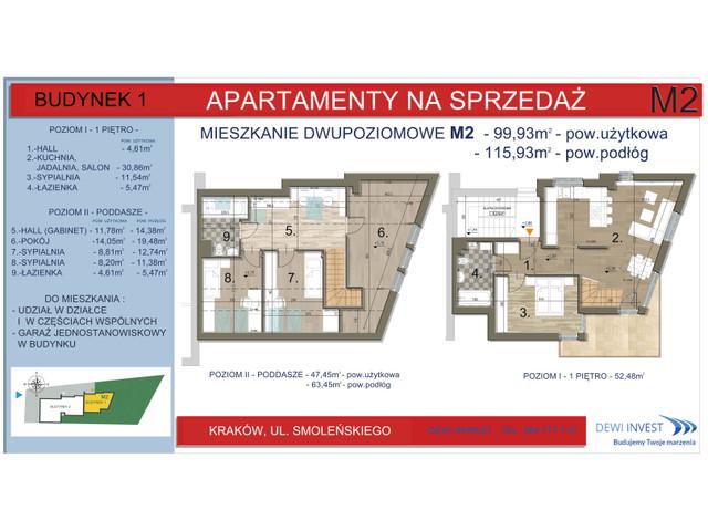 Mieszkanie w inwestycji Apartamenty nad Wilgą, symbol M2 » nportal.pl