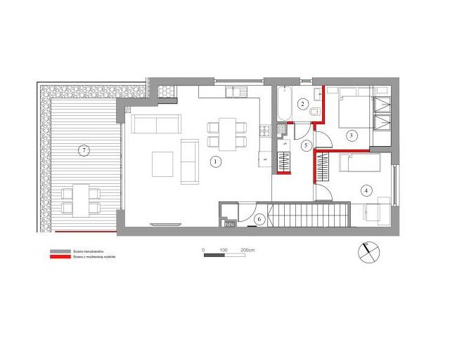 Mieszkanie w inwestycji Chmielowice Apartamenty, budynek Rubinowa, symbol 21-P2 » nportal.pl