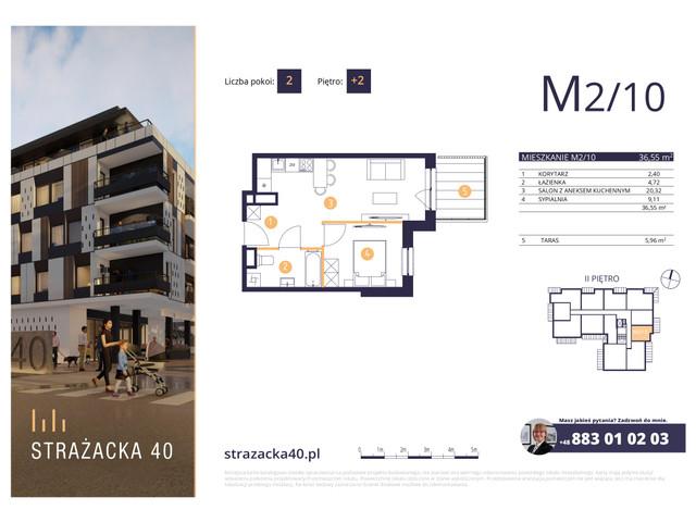 Mieszkanie w inwestycji Strażacka 40, symbol M2/10 » nportal.pl