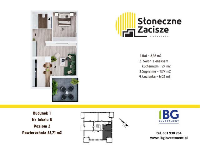 Mieszkanie w inwestycji Słoneczne Zacisze, budynek I, symbol I8 » nportal.pl