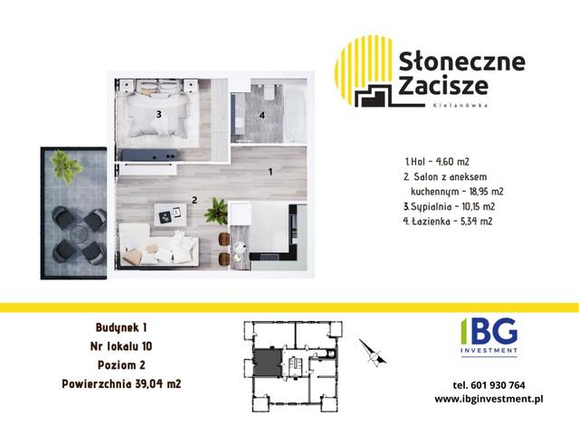 Mieszkanie w inwestycji Słoneczne Zacisze, budynek I, symbol I10 » nportal.pl