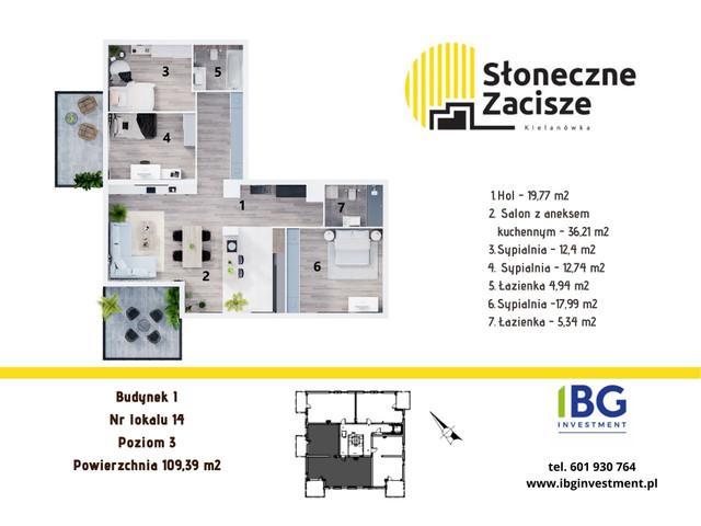 Mieszkanie w inwestycji Słoneczne Zacisze, budynek I, symbol I14 » nportal.pl