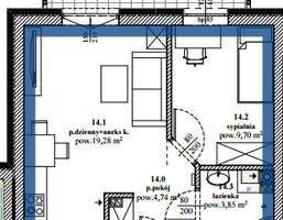 Mieszkanie na sprzedaż, Brzeski (pow.) Brzesko (gm.) Jasień, 164 000 zł, 37,57 m2, 19