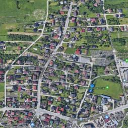 Działka na sprzedaż, Kraków Podgórze Skotniki Skotnicka, 340 000 zł, 998 m2, 50859