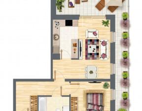 Mieszkanie w inwestycji Słowackiego 77, budynek 2, symbol 2_2