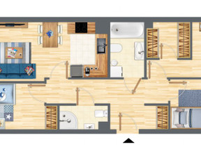 Mieszkanie w inwestycji Słowackiego 77, budynek 2, symbol 2_20