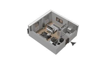 Mieszkanie w inwestycji KW51, symbol M46