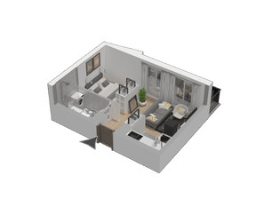 Mieszkanie w inwestycji KW51, symbol M54