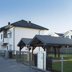 Dom w inwestycji Osiedle Krokusów, symbol 42B