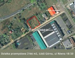 Działka na sprzedaż, Łódź M. Łódź Górna Ruda Pabianicka, 498 000 zł, 2166 m2, GS-350-1