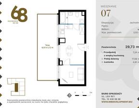 Mieszkanie na sprzedaż, Kraków M. Kraków Krowodrza Kazimierza Wielkiego, 335 949 zł, 29,73 m2, SPEK-MS-1223