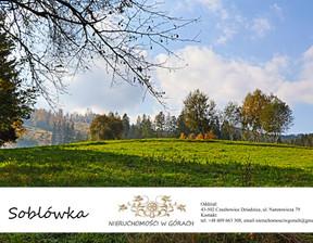 Działka na sprzedaż, Żywiecki (pow.) Ujsoły (gm.) Soblówka, 78 750 zł, 1050 m2, 214