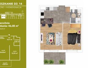 Mieszkanie na sprzedaż, Katowice Podlesie Bażantów, 239 247 zł, 46,08 m2, i3-2018