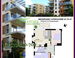 Mieszkanie na sprzedaż, Łódź Bałuty, 430 000 zł, 67,7 m2, WK-419