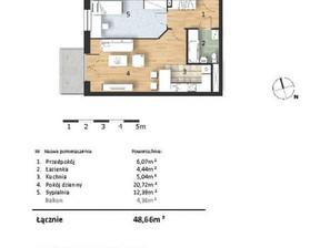 Mieszkanie w inwestycji Osiedle Słoneczne, budynek Budynek 1, symbol 31
