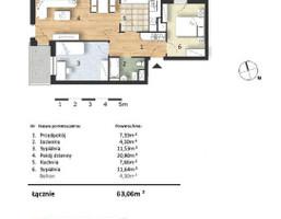 Mieszkanie w inwestycji Osiedle Słoneczne, budynek Budynek 1, symbol 32