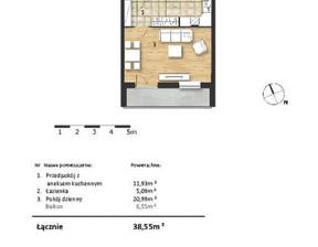 Mieszkanie w inwestycji Osiedle Słoneczne, budynek Budynek 2, symbol 47