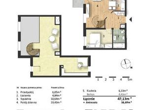 Mieszkanie w inwestycji Osiedle Słoneczne, budynek Budynek 1, symbol 44