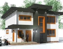 Dom w inwestycji Satori House (mazowieckie), budynek Opcja Dom, symbol S01P06