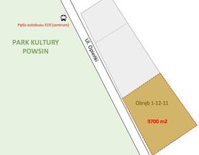 Działka na sprzedaż, Warszawa Wilanów, 8 730 000 zł, 9700 m2, 102